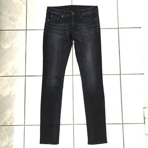 R13 Womans Black Skinny Jeans